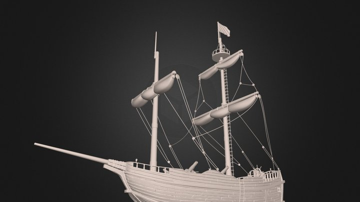 Sea of Thieves - Brigantine [v3] 3D Model