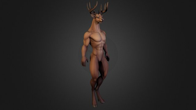 Dvalinn Deer - WIP 3D Model