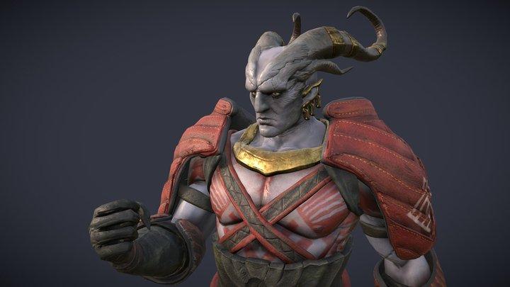 Arishok of Dragon Age 2 3D Model