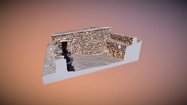 Pucara de Tilcara - Casa de Barrio de la Entrada 3D Model