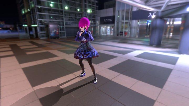 VRoid Boxing Model for Test 3D Model