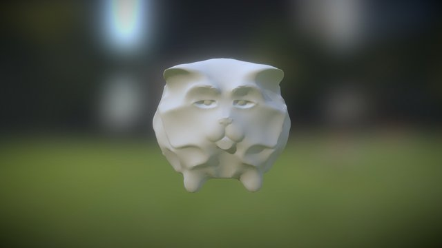 Ball of Cat 3D Model