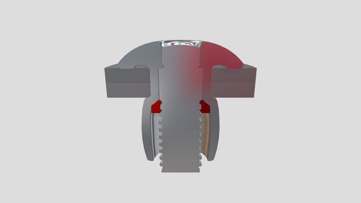 S-Lock Minimum Grip Range 3D Model