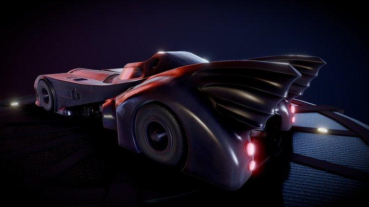 Batmobil 3D Model