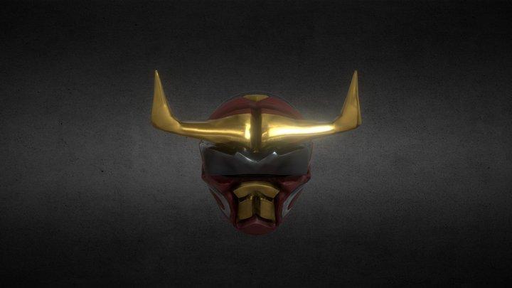 Power ranger fanmade helmet 3D Model