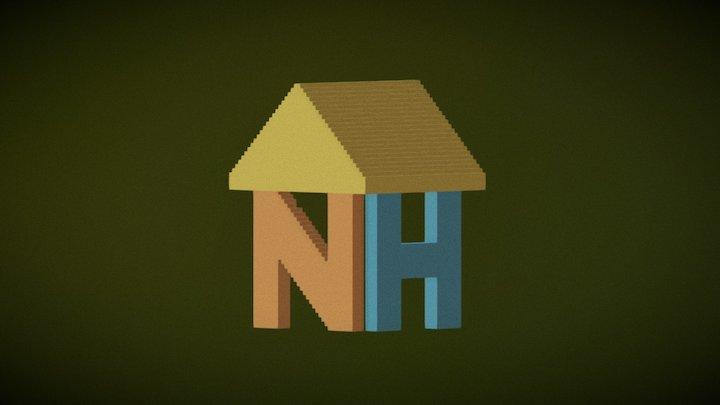 LDE UTC NetHouse logo practise 3D Model