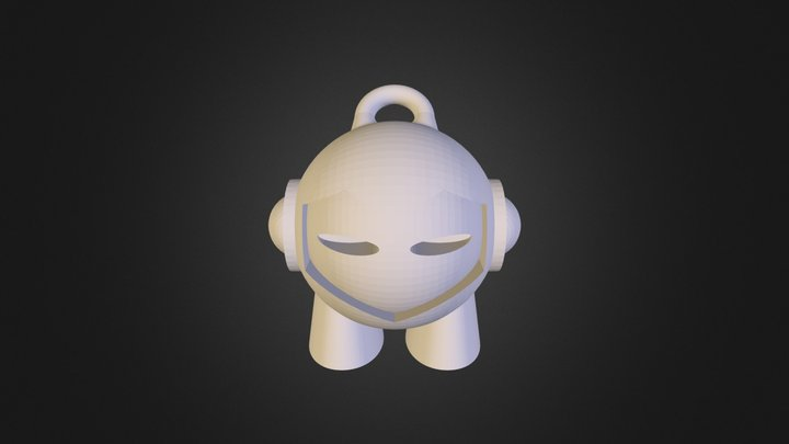 20140205 Marvin Key Chain (2) 3D Model