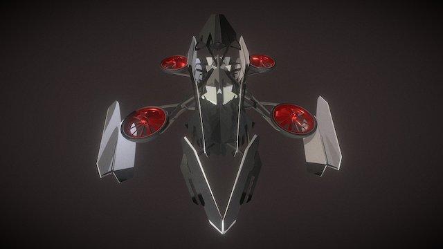Law Enforcement Drone 3D Model