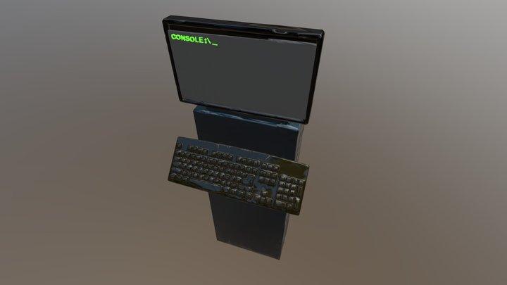 Carbon Server Console 3D Model