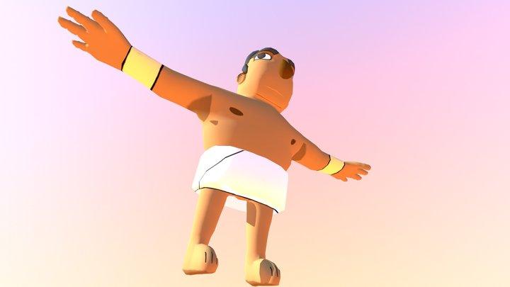 Ishaak eGYPTIAN GOD OF BURRITOS AND SADNESS 3D Model