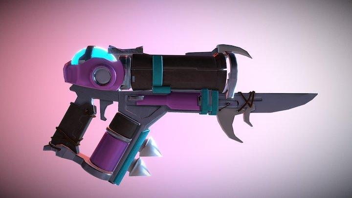 Abominable Mei Gun -WIP 3D Model