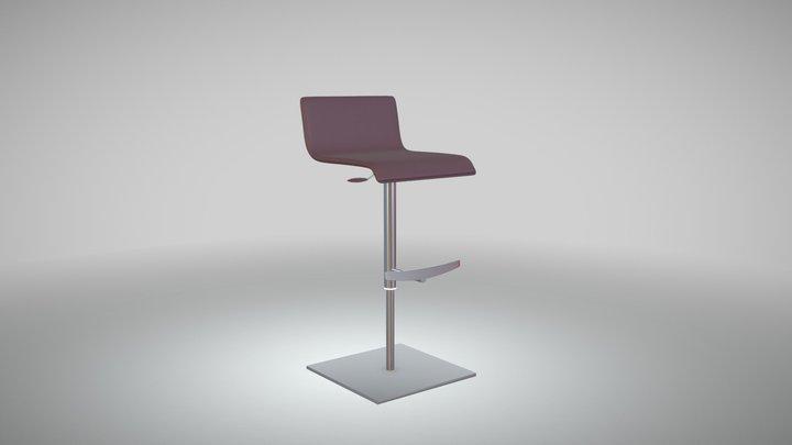 Garret -stool 3D Model