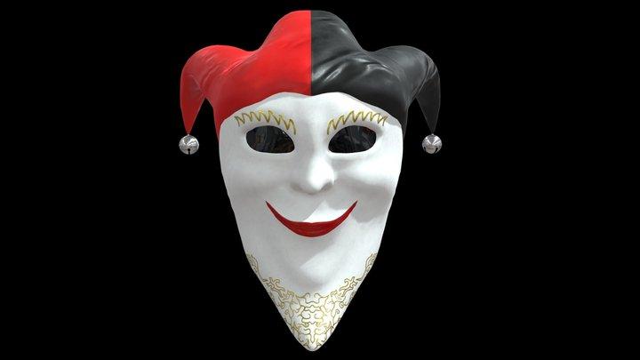 Fool Mask 3D Model