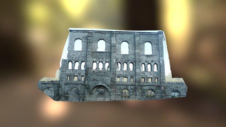 Roman theatre in Aosta / Teatro romano di Aosta 3D Model