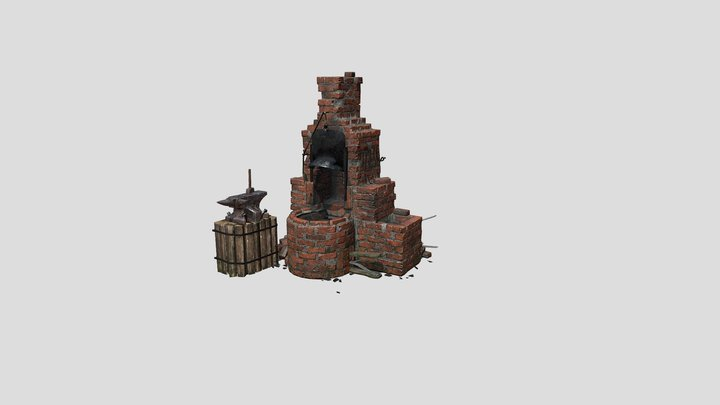 Forge For Class 3D Model