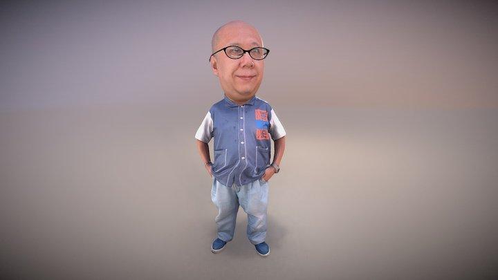Wally in 3DPSS 3D Model