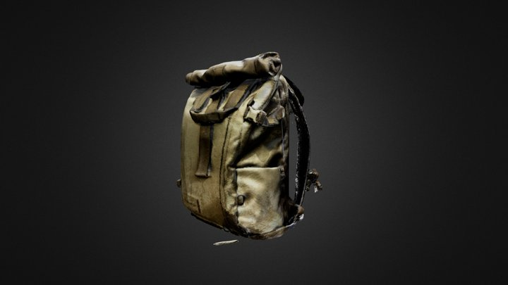WANDRD PRVKE series backpack 2nd 3D scan 3D Model