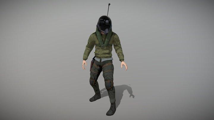 Pilot Avatar 3D Model