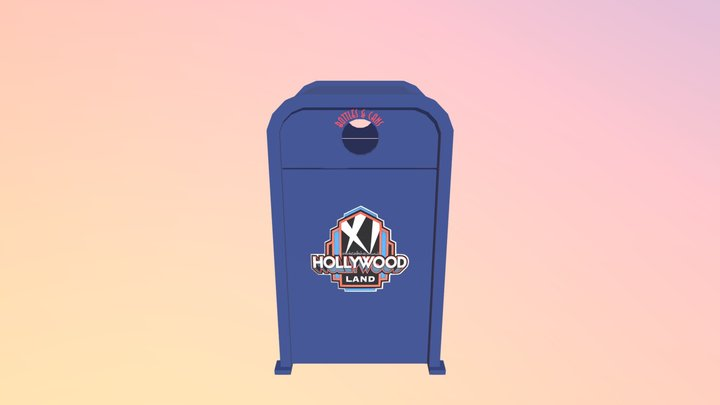 Hollywood Land Recycle Bin