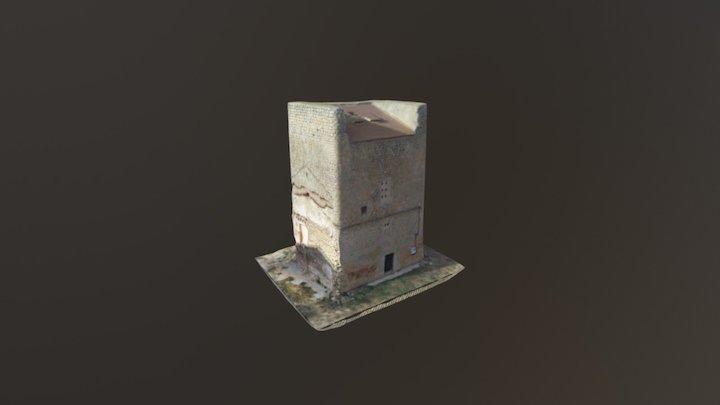 Torreón de Villanueva de Zamajón 3D Model