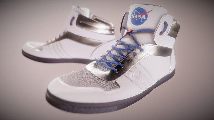 Nasa Shoes 3D Model