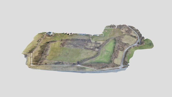 TOPOGRAPHIE PAR DRONE-BELLEGARDE SUR VALSERINE 3D Model