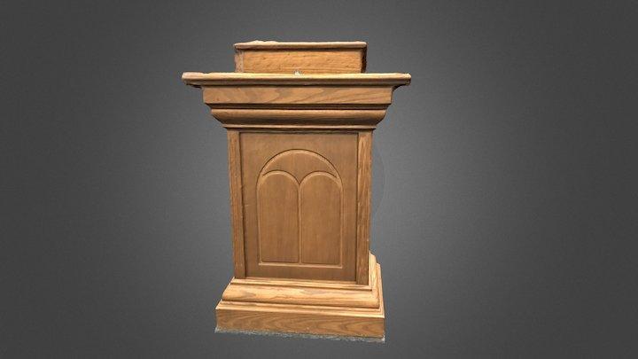 Podium 2 3D Model