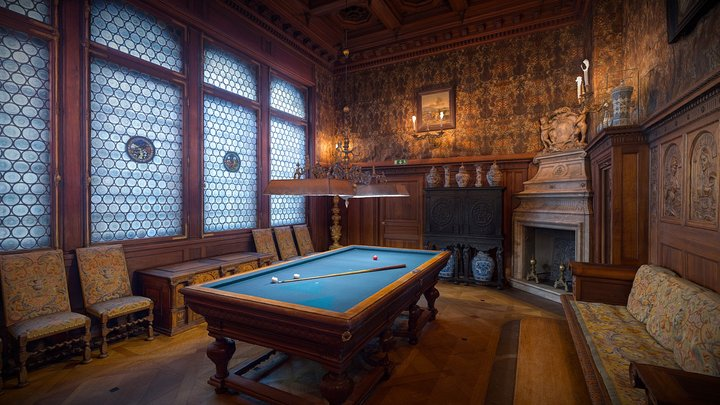 The Billiards Room 3D Model