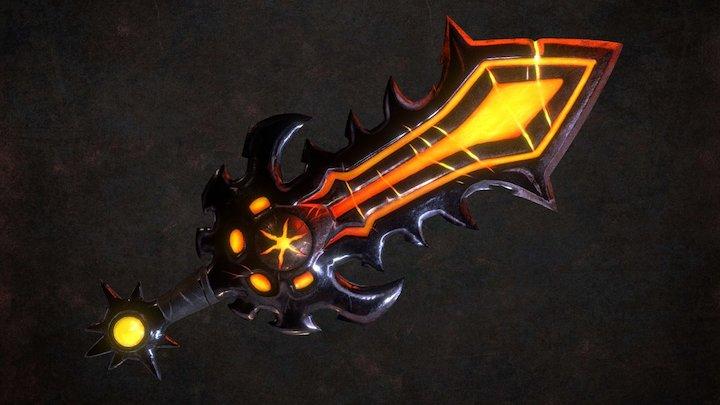 Altiverse Crimson Sword 3D Model