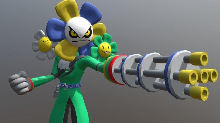 Nicholas The Flower 3D Model