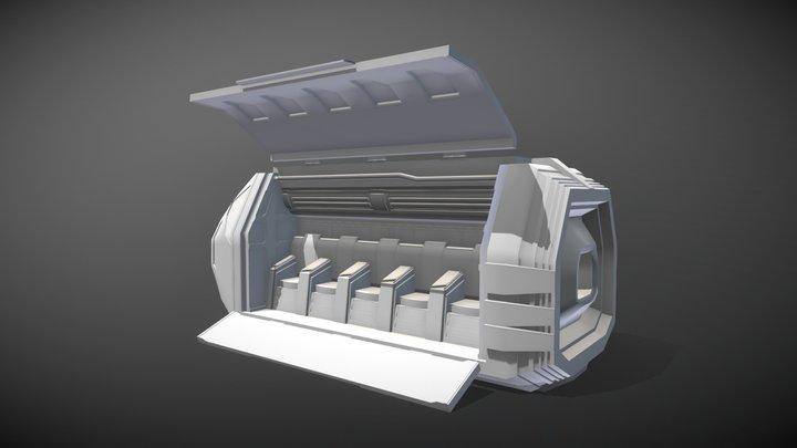 Escape Pod 3D Model