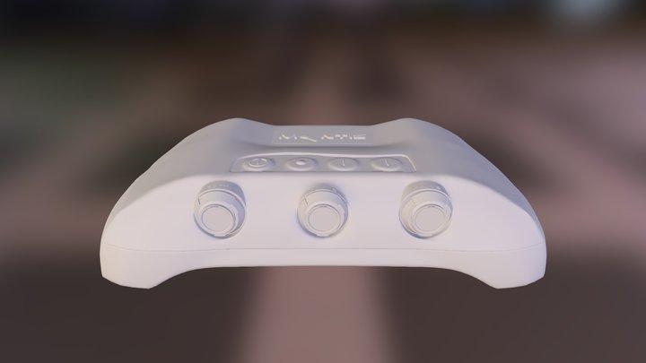 mantisCensorLogoComplete01 3D Model