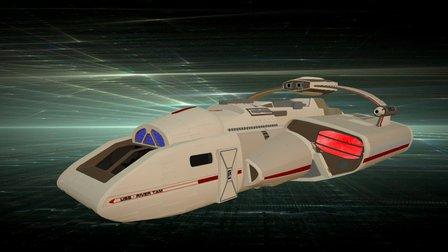 River Tam Shuttle 3D Model