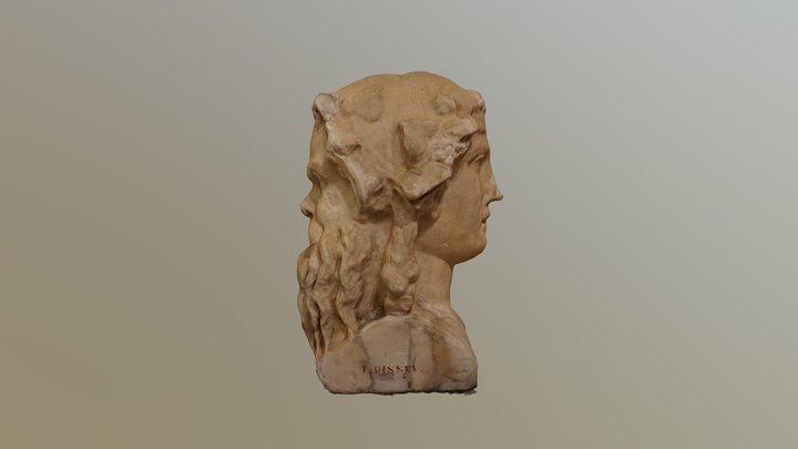 Double headed herm 3D Model