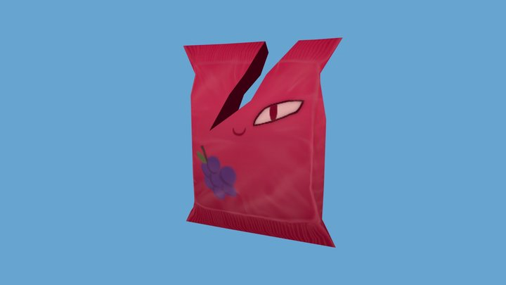 Envirovaders - Candywrap 3D Model