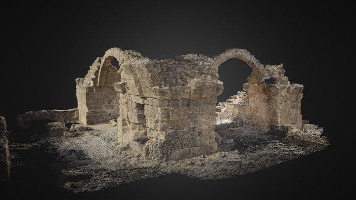 Saranta Kolones (Columns) 3D Model