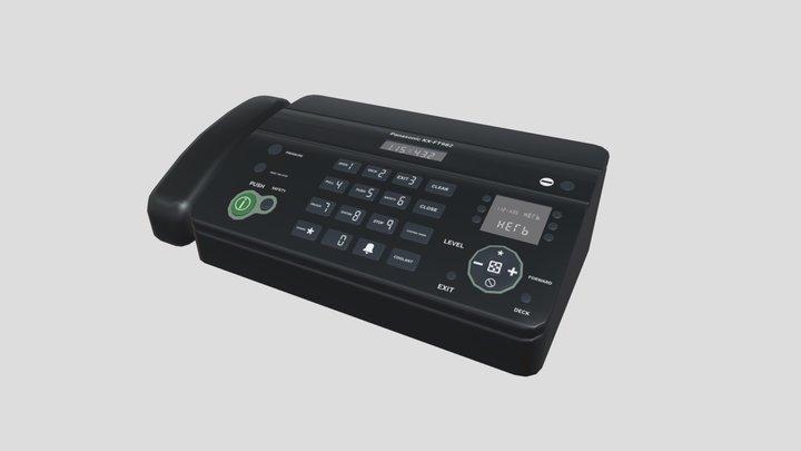 Panasonic KX-FT982 Faxx 3D Model