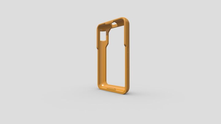 TK21 Open Coldcard Case 3D Model