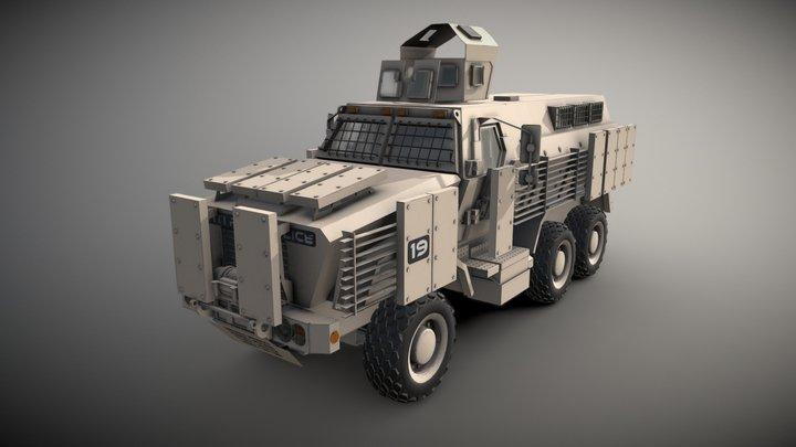 Caiman MRAP 3D Model
