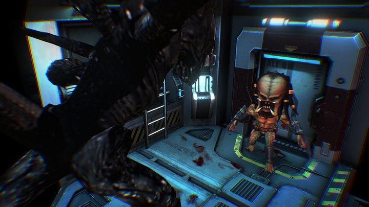 Alien vs. Predator 3D Model
