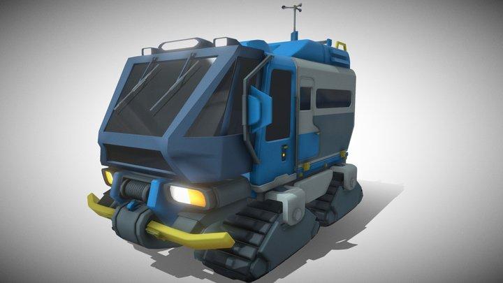 Ice Truck - OVERWATCH 3D Model