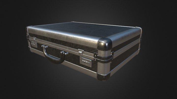 Damaged Briefcase 3D Model