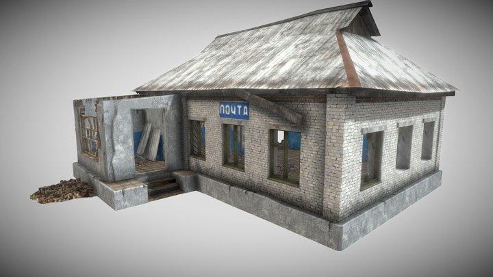 Survival post office (mobile) 3D Model