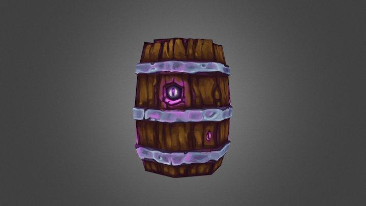 Witch barrel WIP 3D Model