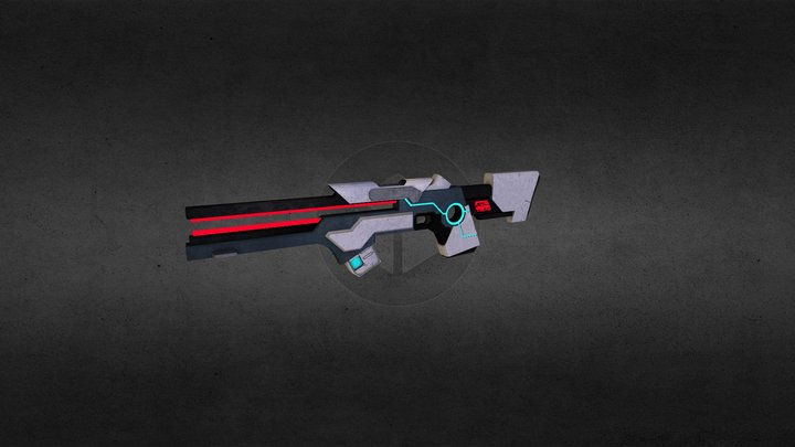 Torrent Rifle 3D Model