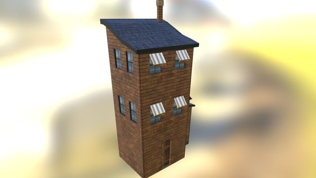 Palace 01 3D Model