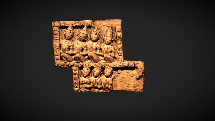 Stuccowork Form Sukhothai 3D Model
