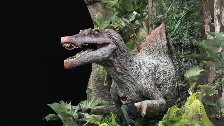 Universal Studio Dino 3D Model