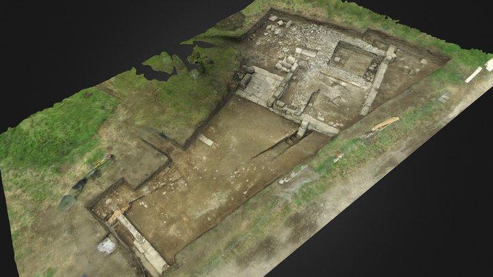 Chantier archéologique de Gabies, Italie 3D Model
