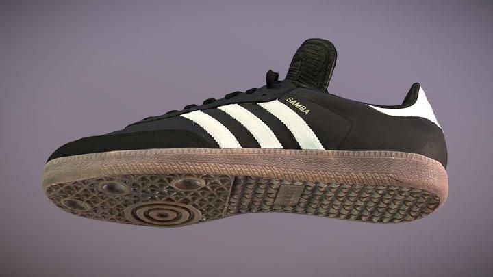 Adidas Samba Classic 3D Model